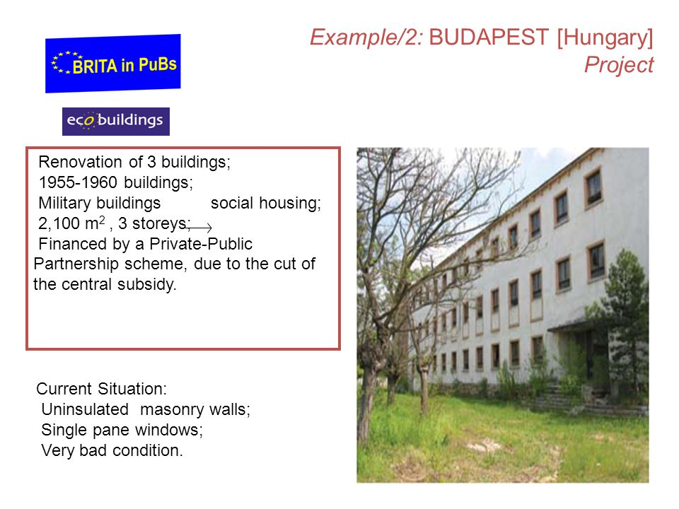 Example/2: BUDAPEST [Hungary] Project
